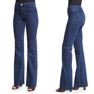J Brand Tailored Flare Allegiance High Rise Jeans